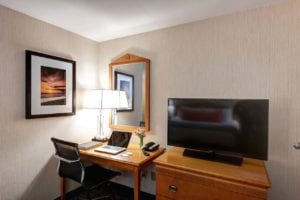 Flat Screen TV In Rooms